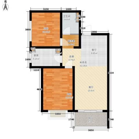80902室0厅1卫1厨100.00㎡户型图