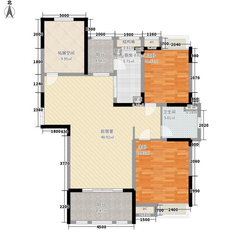 天福雅苑1-3号楼B1户型