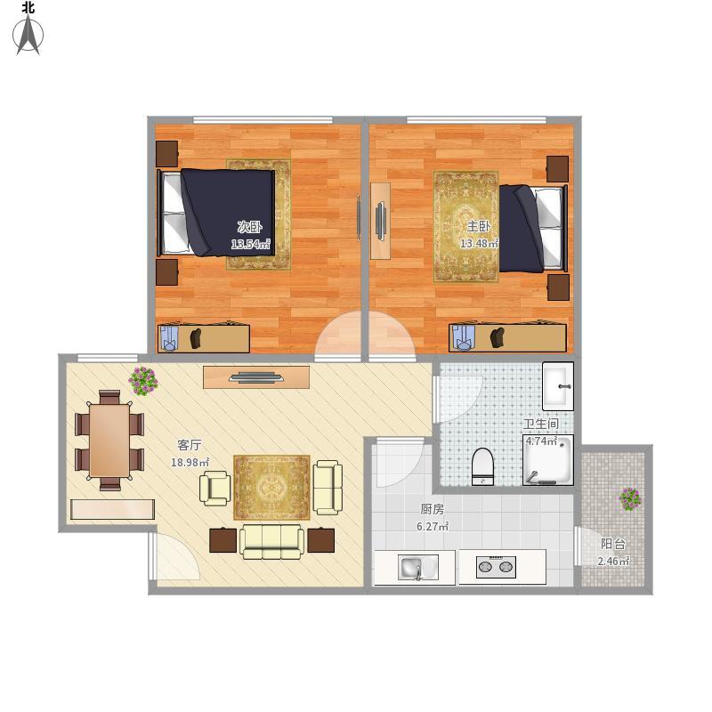 皇后国际公寓B7