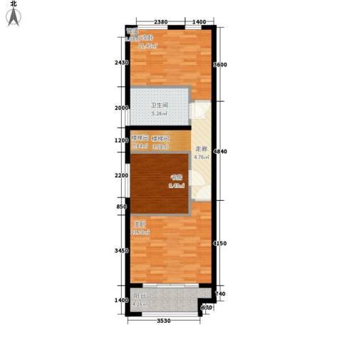 阳光100城市丽园3室0厅1卫0厨73.00㎡户型图