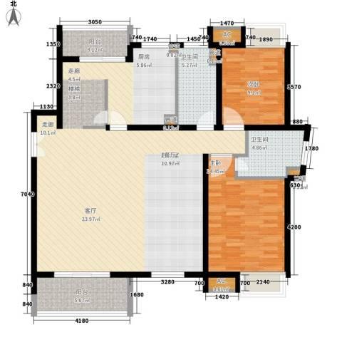 万源城乐斯生活会馆2室0厅2卫0厨239.00㎡户型图