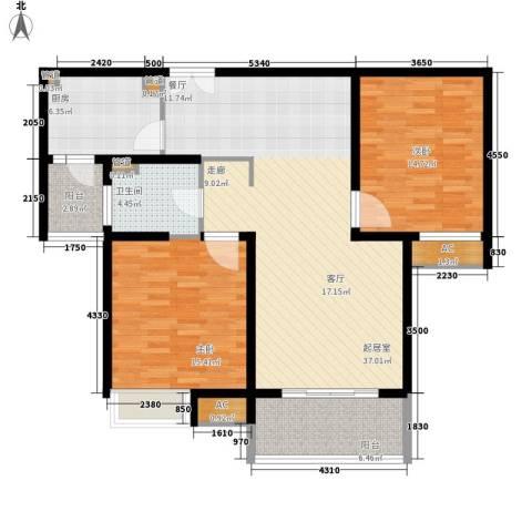 万源城乐斯生活会馆2室0厅1卫1厨183.00㎡户型图