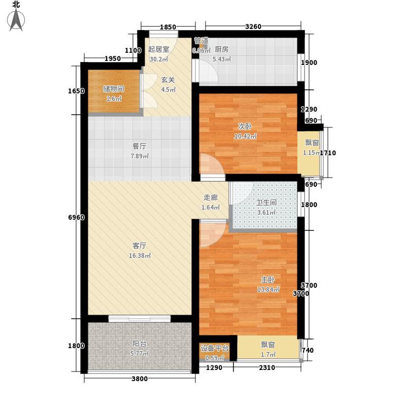 龙城铭园国际社区93.00㎡龙城铭园国际社区户型图K2户型图2室2厅1卫1厨户型2室2厅1卫1厨
