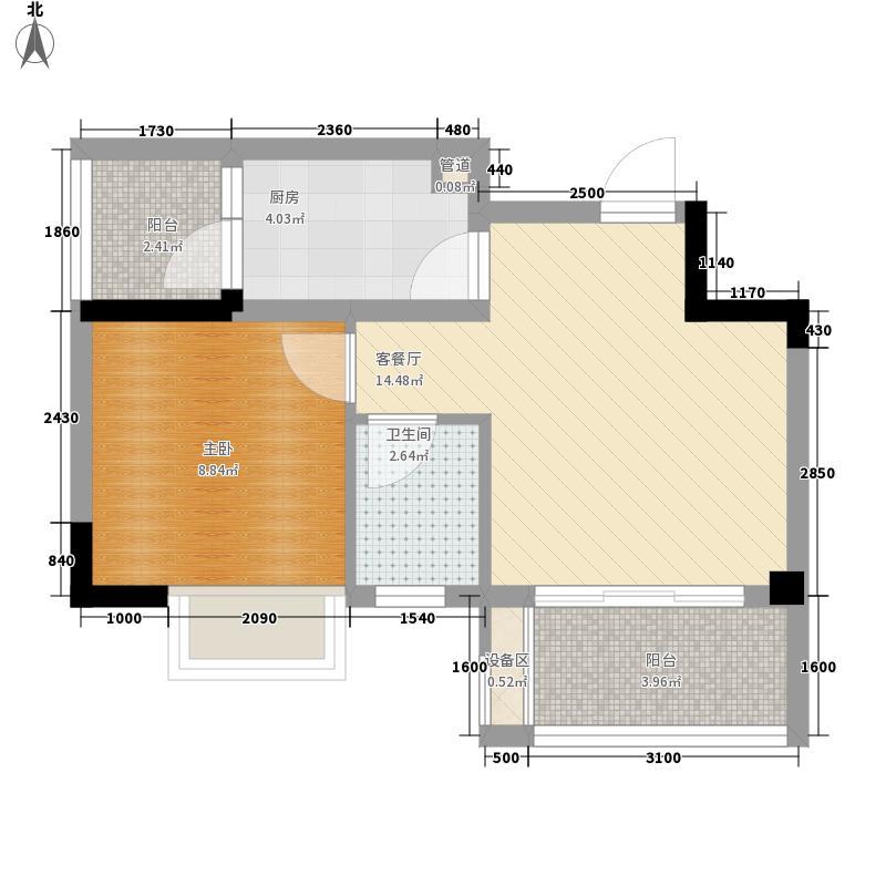 高攀西巷5号院56.00㎡高攀西巷5号院56.00㎡1室户型1室