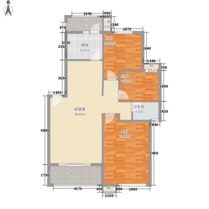 文教路建设厅宿舍135.00㎡户型3室