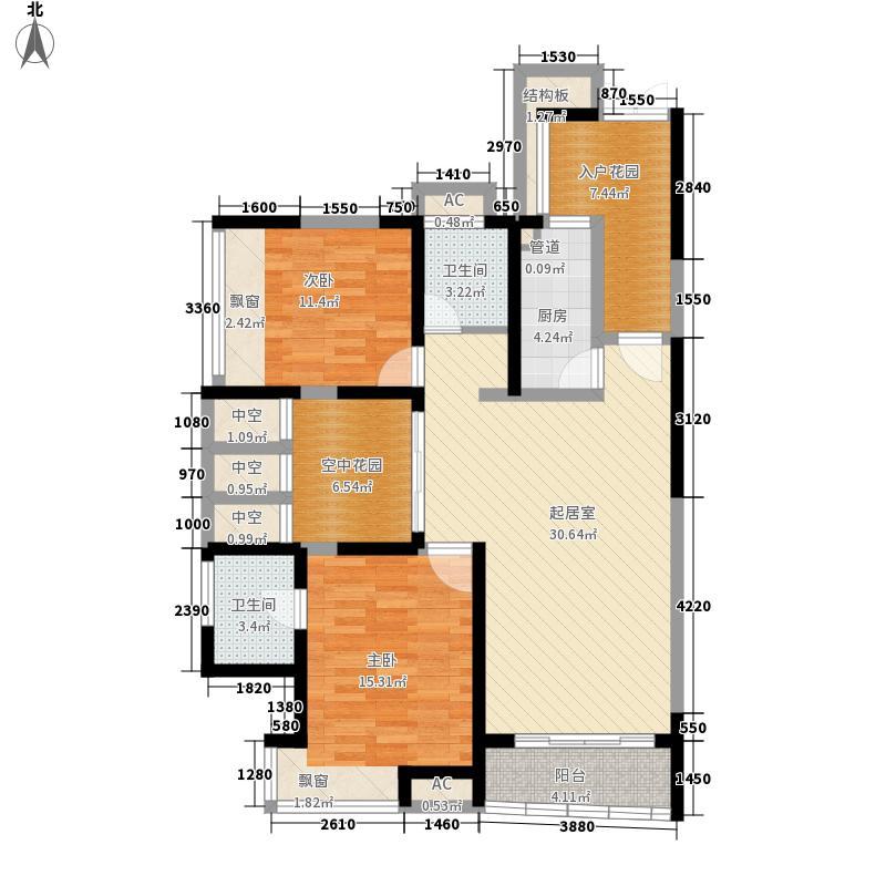 新世纪星城二期新世纪星城二期2室户型2室