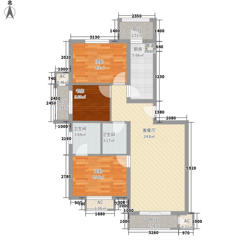 九龙山家园106.00㎡九龙山家园106.00㎡10室户型10室