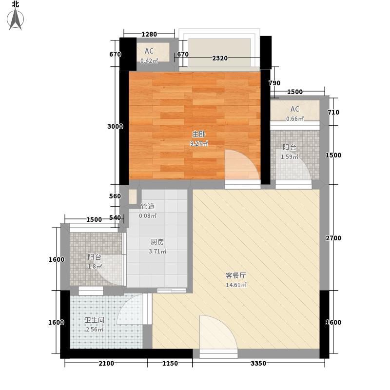 融锦城2栋A2户型10室