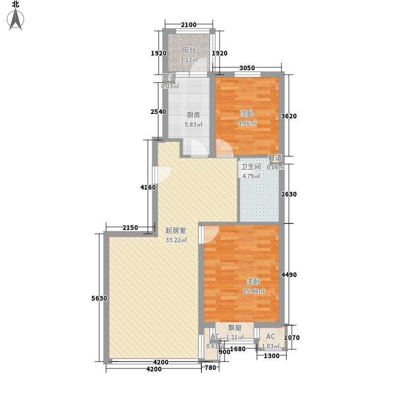 钢南生活区65.00㎡钢南生活区2室户型2室