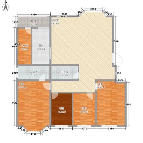 威尼斯花园4室0厅2卫1厨195.00㎡户型图
