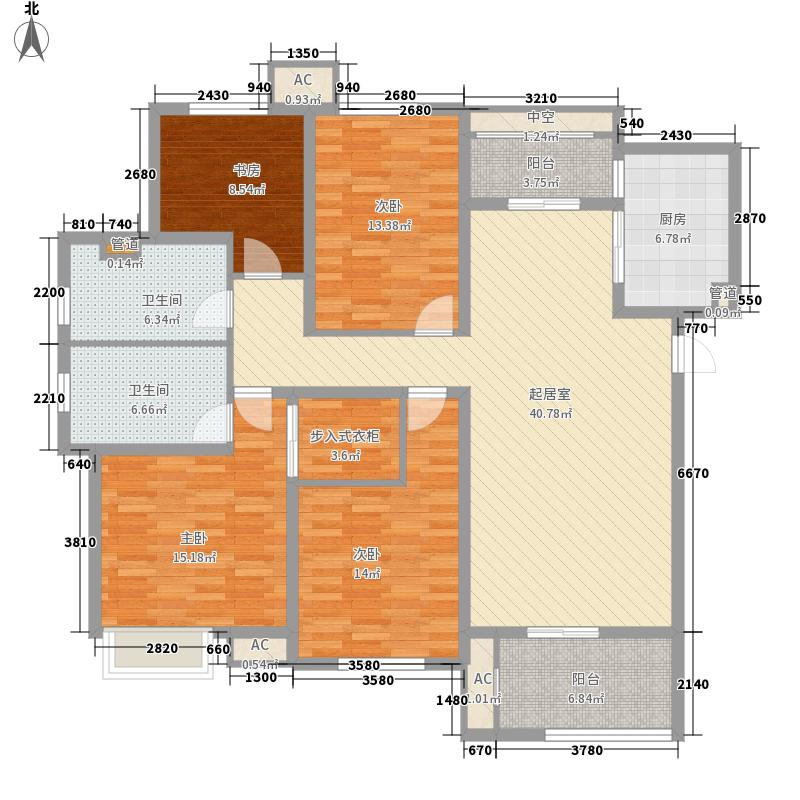 中海国际社区三区149.00㎡28#标准面积14900m户型