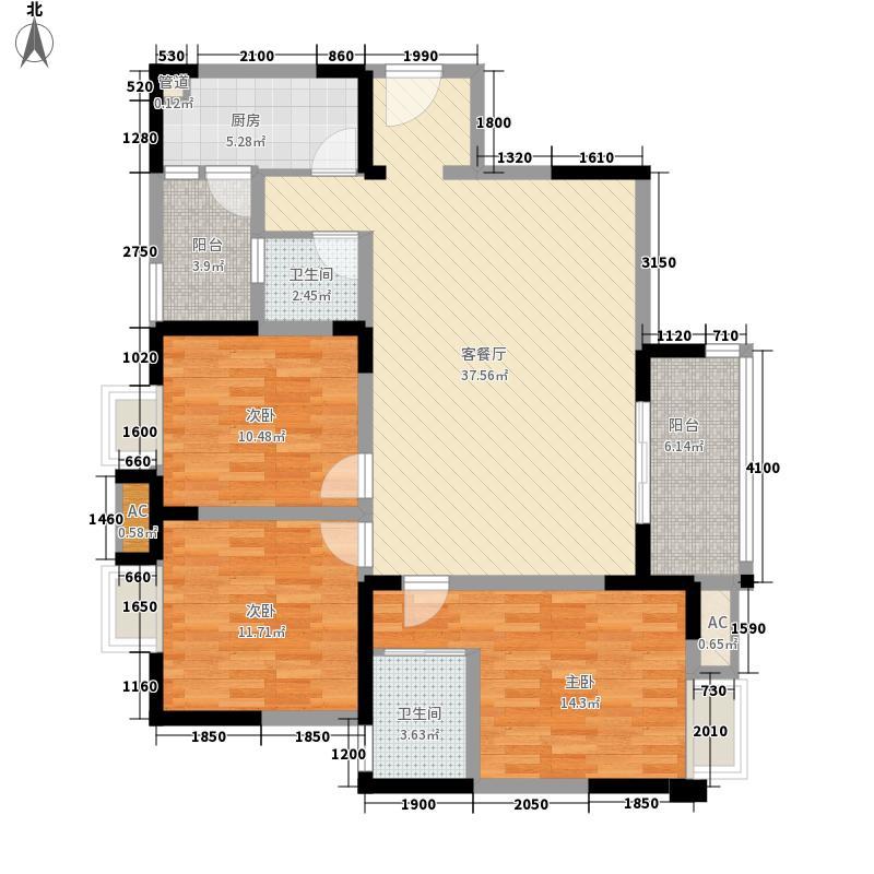 融锦城5栋C1户型10室
