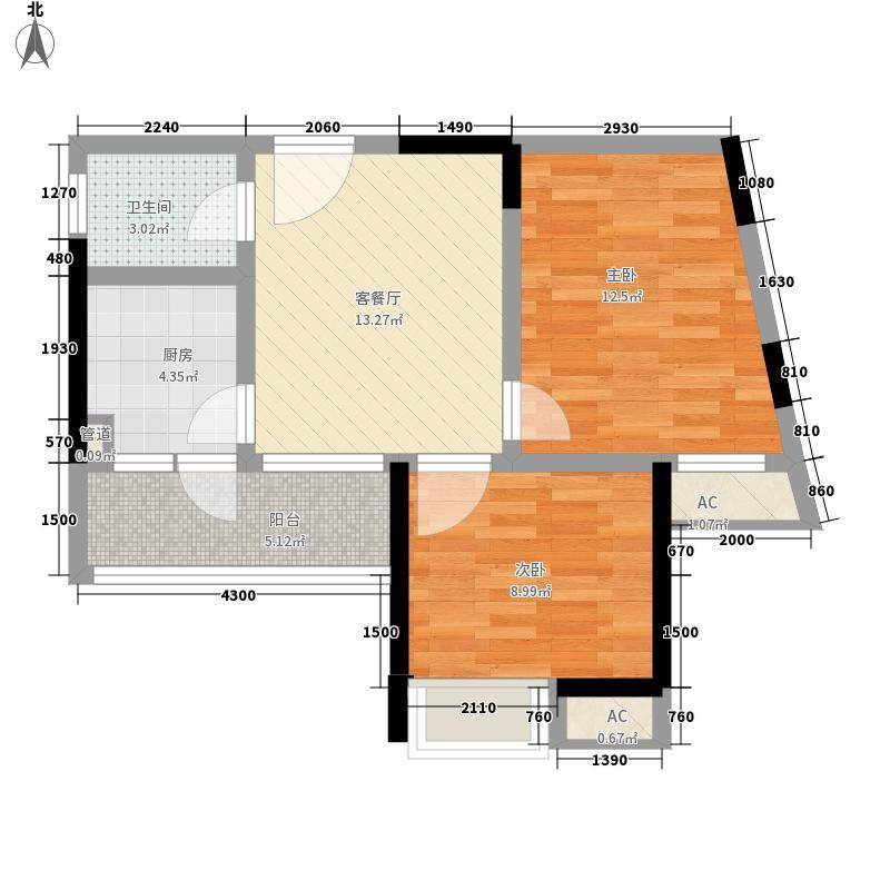 融锦城2栋B7户型10室