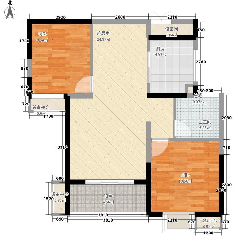 绿地臻城绿地臻城户型图三区15#S2户型户型10室