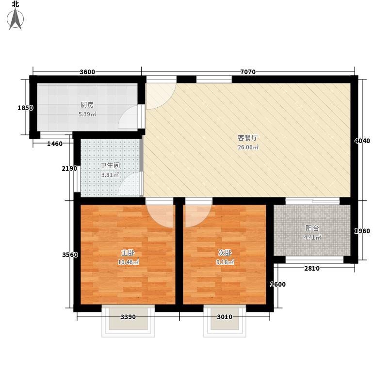 金柱大学城东苑A1-1户型