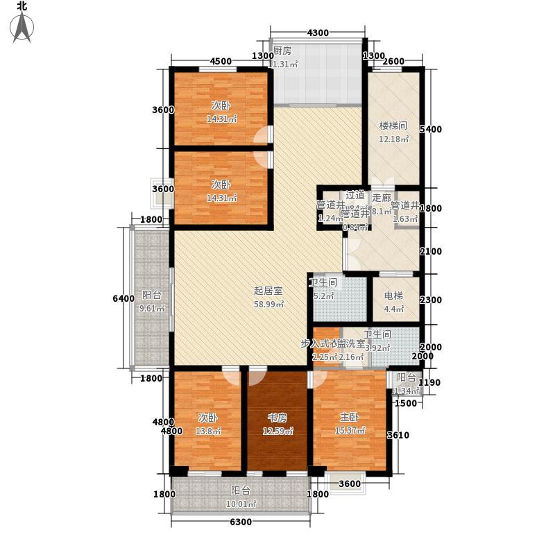 天和学府苑240.46㎡天和学府苑户型图A户型5室2厅2卫户型5室2厅2卫