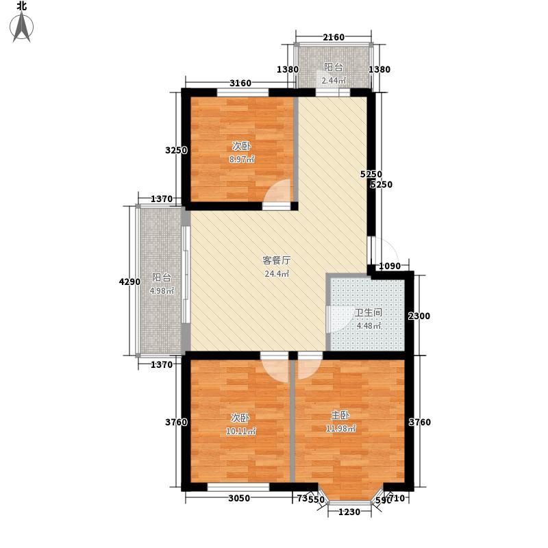 海富山水文园76.31㎡海富山水文园户型图三室一厅户型3室1厅1卫1厨户型3室1厅1卫1厨