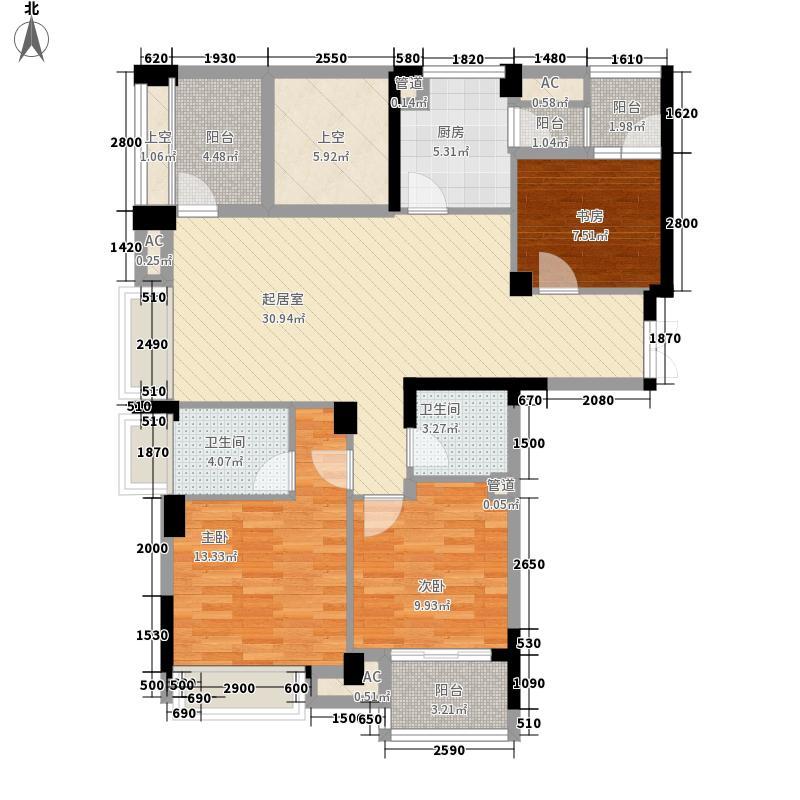 原筑壹号原筑壹号户型图3室户型图3室2厅2卫1厨户型3室2厅2卫1厨