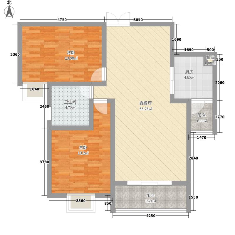 F、空港中心城89.14㎡F、空港中心城户型图H11户型2室2厅1卫1厨户型2室2厅1卫1厨