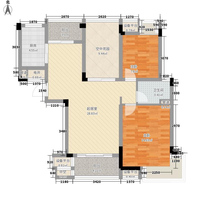 菊香苑168.00㎡菊香苑2室户型2室
