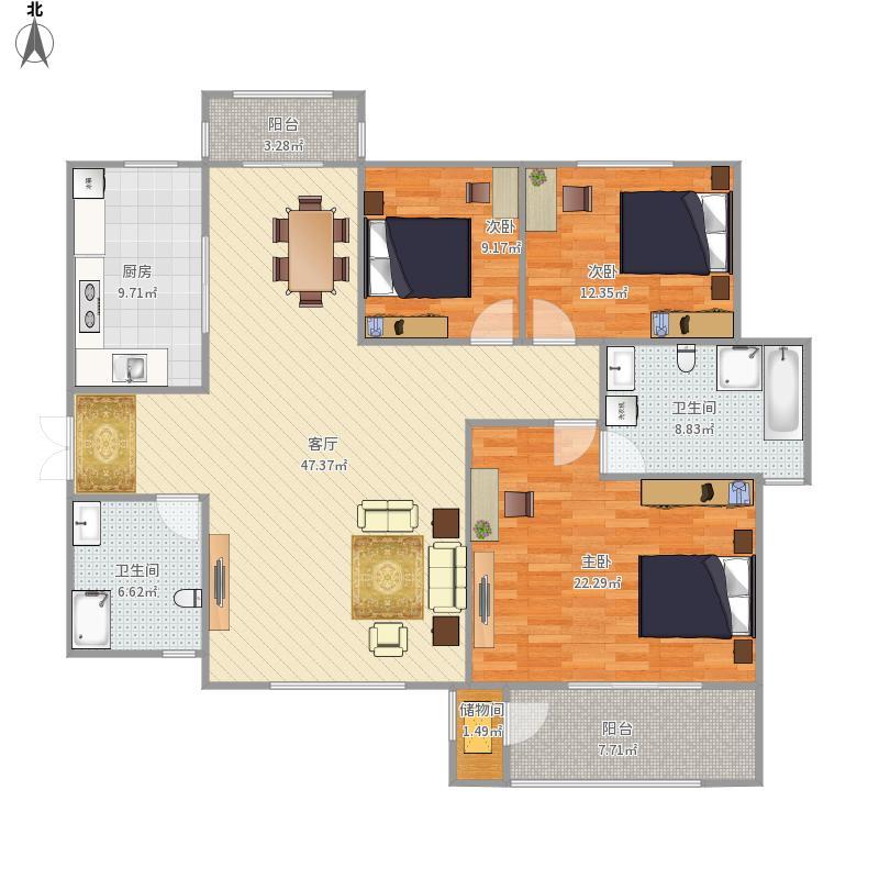 全国-高平市世纪家园-设计方案