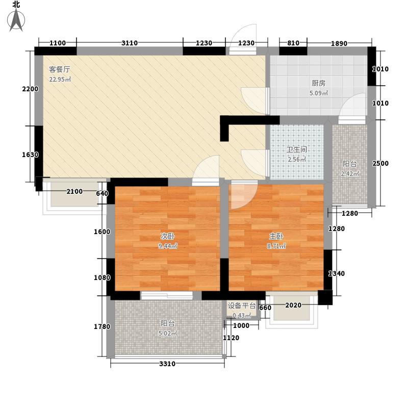 5、6号楼B6户型