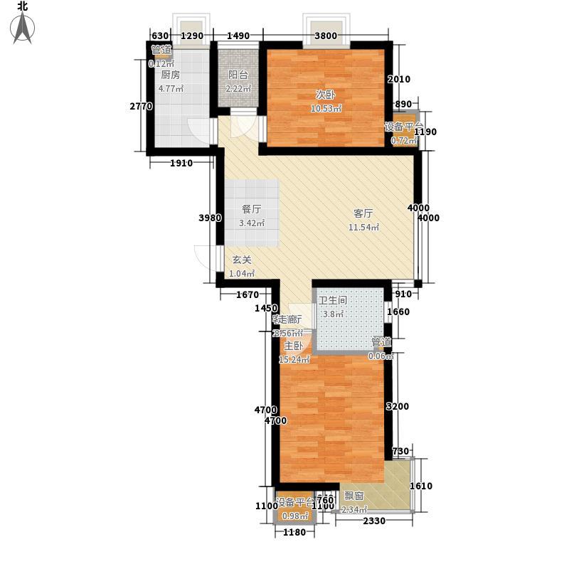 东方欧博城83.00㎡东方欧博城户型图户型图2室2厅1卫户型2室2厅1卫