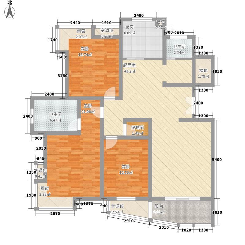 林水山居别墅111.40㎡林水山居别墅户型图林水山居户型图3室2厅2卫1厨户型1室1厨