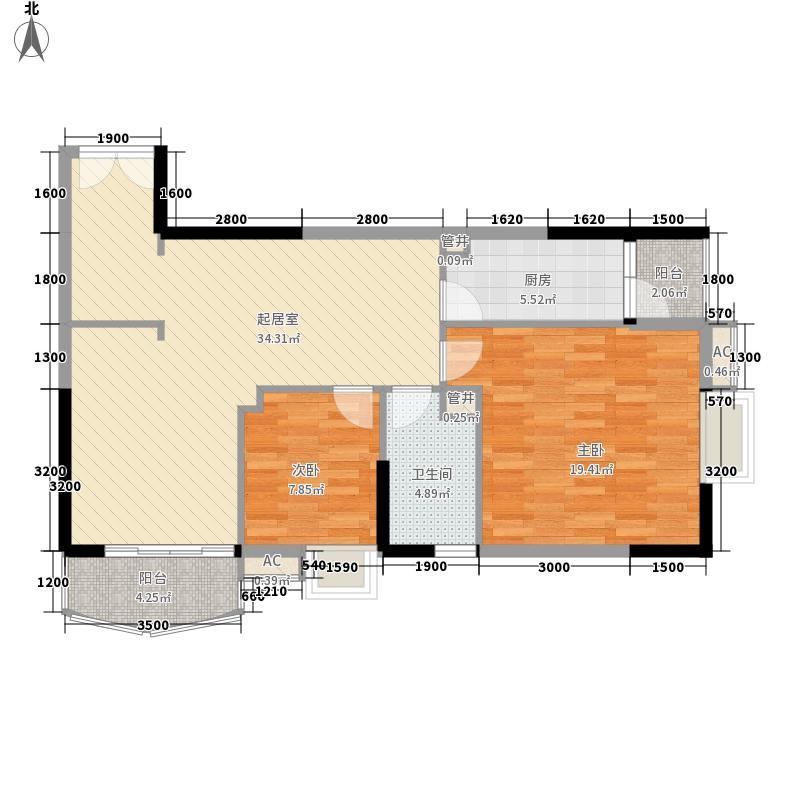 东方国际星座103.15㎡东方国际星座户型10室