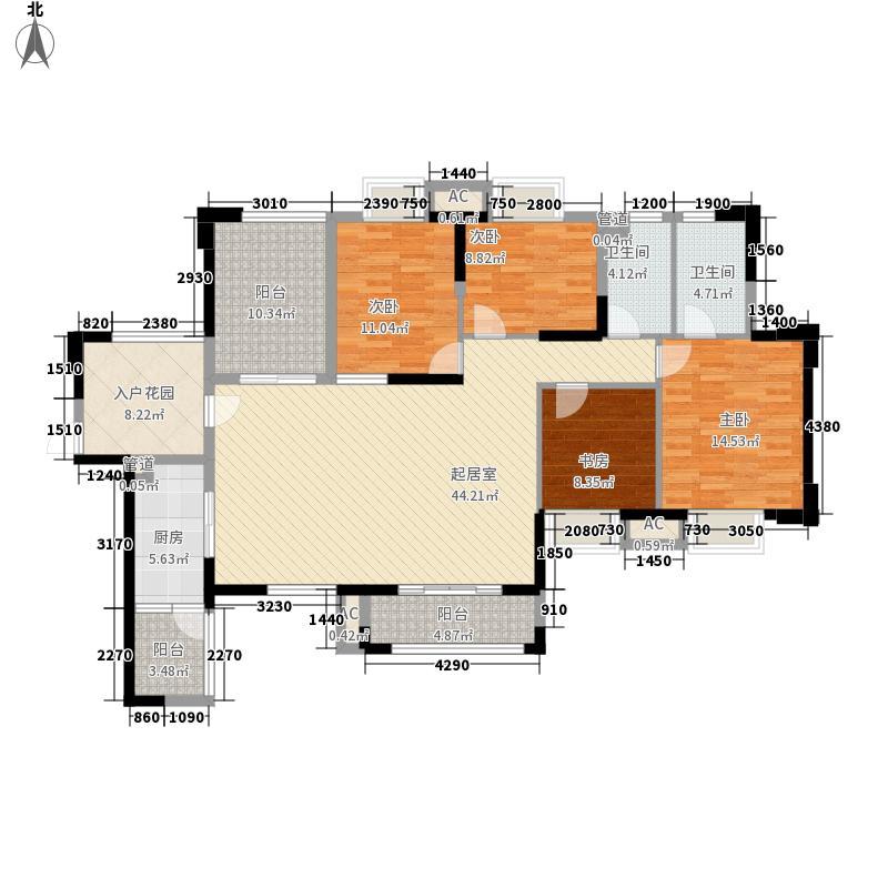 康联汇展中央康联汇展中央户型图6栋01、02户型户型10室