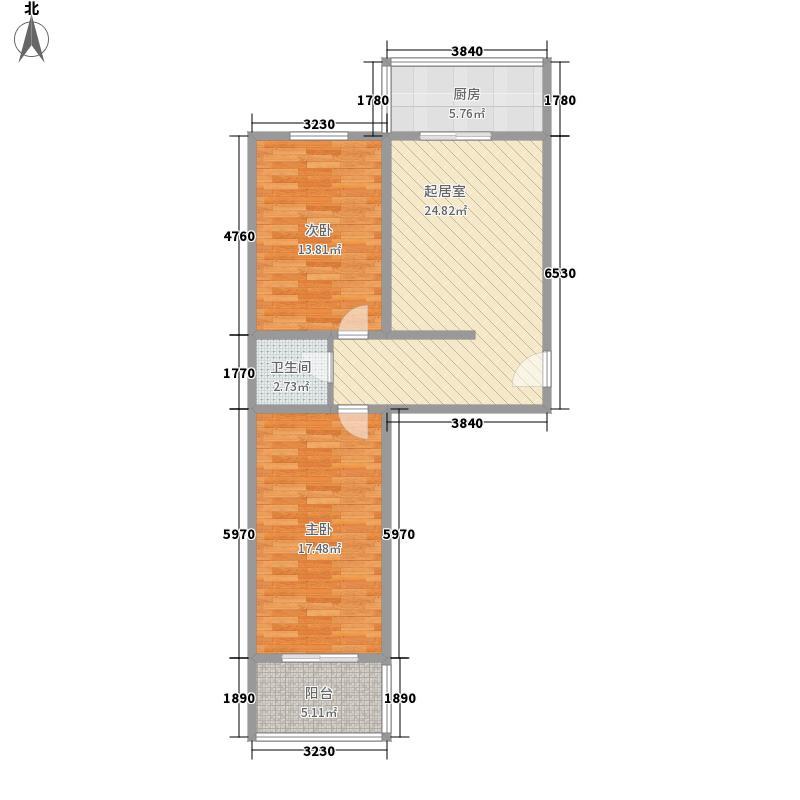巴克公寓98.00㎡巴克公寓户型10室