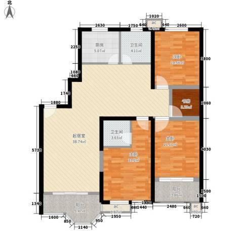 大众家园4室0厅2卫1厨144.00㎡户型图