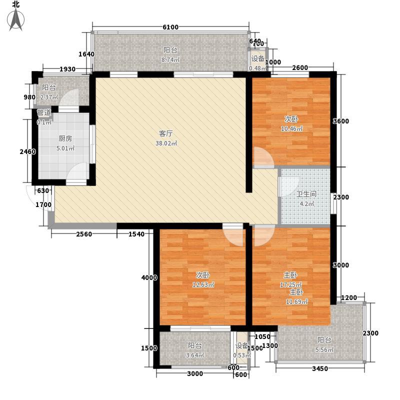 怡水花园三期402#楼204-1504户型