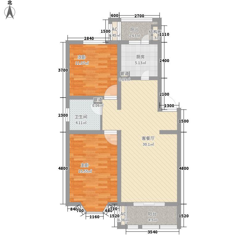东七卫材厂宿舍78.00㎡东七卫材厂宿舍2室户型2室