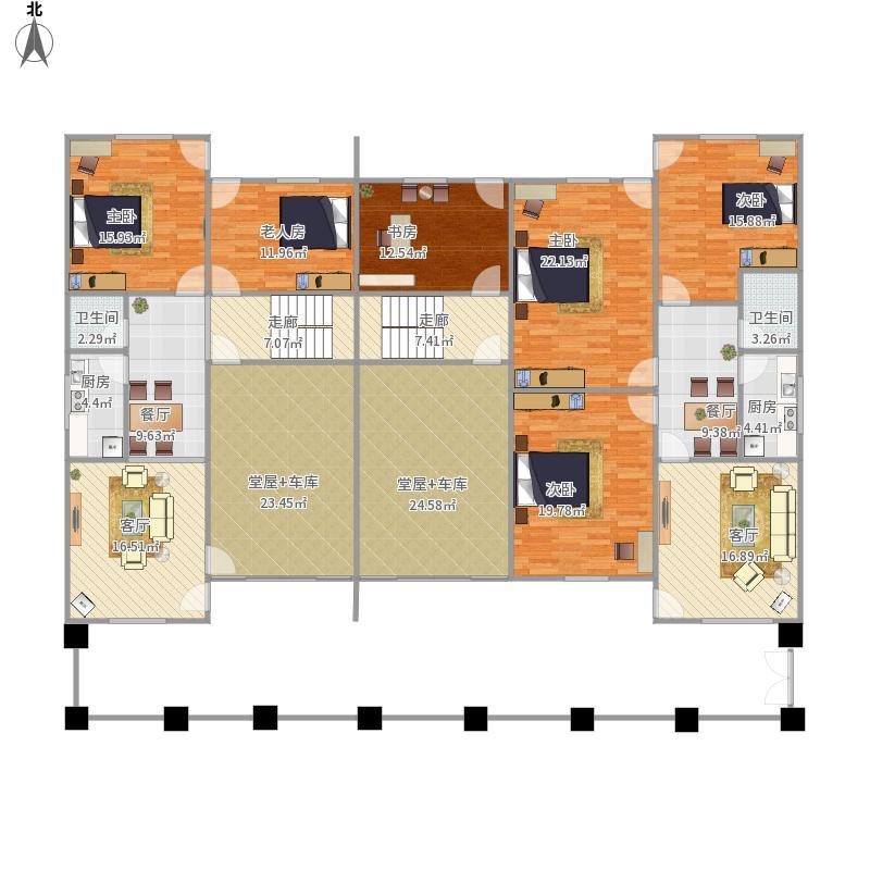 我的设计农村住房改进版修正-0620