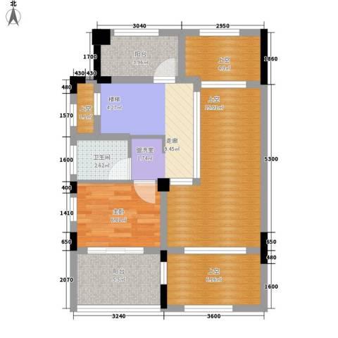 翡翠岭1室0厅1卫0厨94.00㎡户型图