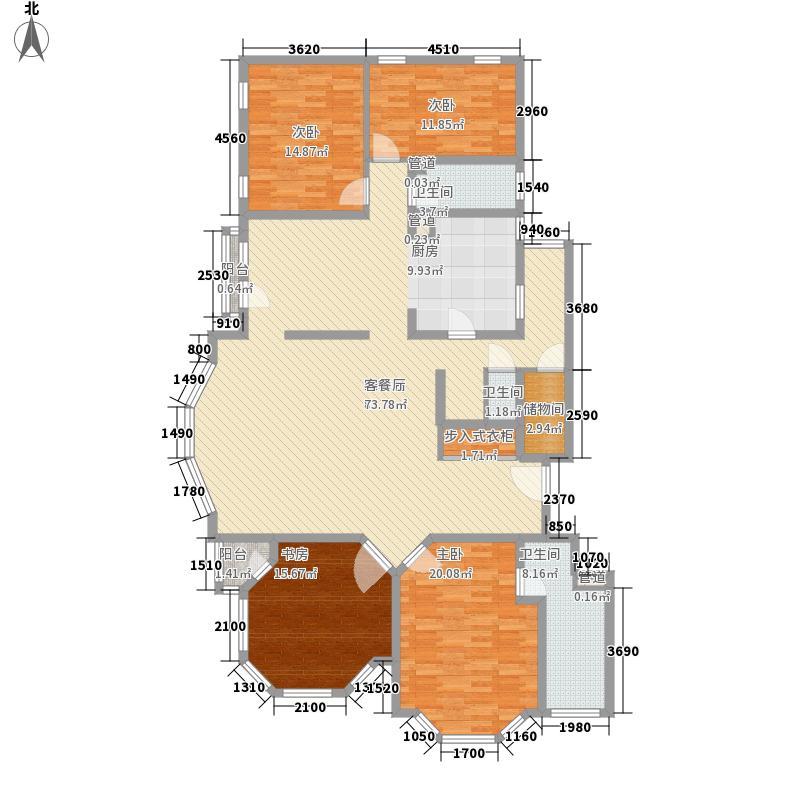 四季香山别墅四季香山别墅户型图D5标准层户型4室2厅3卫1厨户型4室2厅3卫1厨