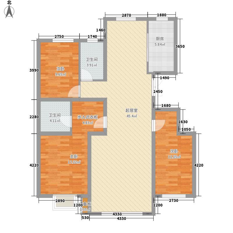 兰庭书苑二期139.00㎡兰庭书苑二期户型图3室2厅2卫1厨139平3室2厅2卫1厨户型3室2厅2卫1厨