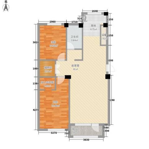 开发区山水家园2室0厅1卫0厨111.00㎡户型图