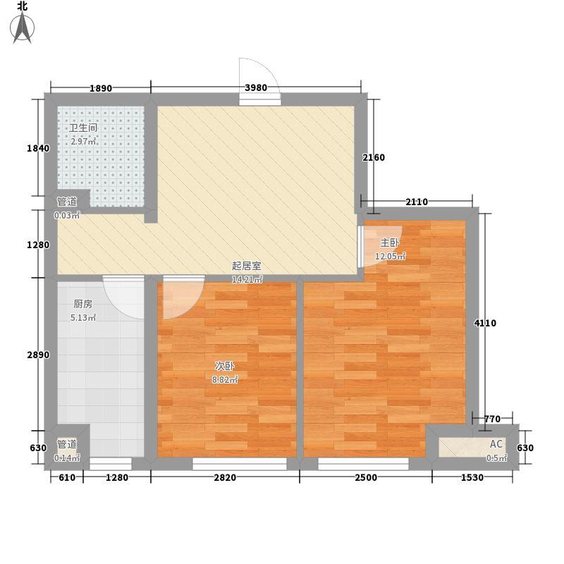 五彩上筑户型图1