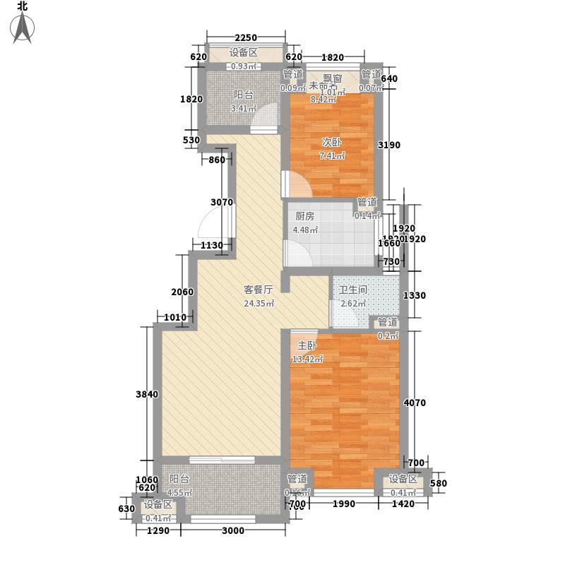 万科金域华府95.00㎡万科金域华府户型图户型图3室2厅1卫1厨户型3室2厅1卫1厨