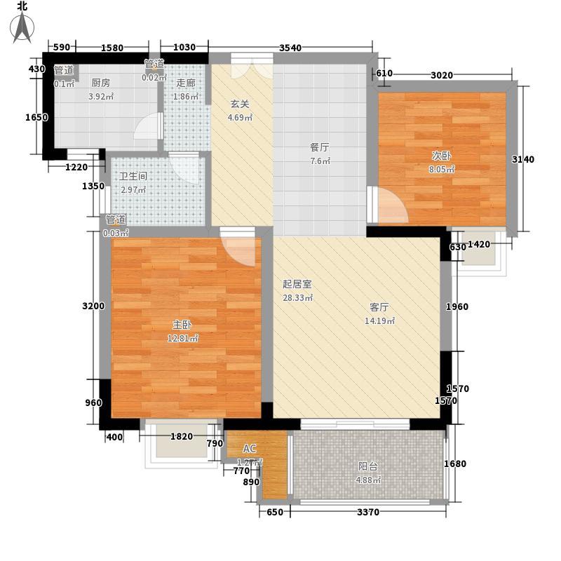 文教路建设厅宿舍72.00㎡户型2室