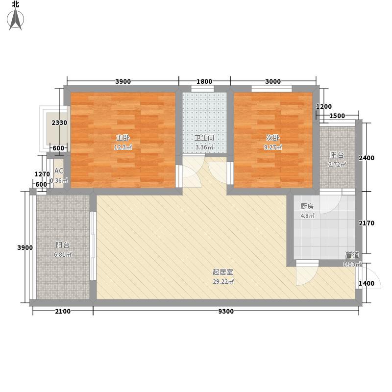 东方俪城85.50㎡东方俪城户型图3室2厅1卫1厨85.50㎡户型3室2厅1卫1厨