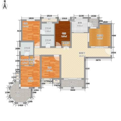凯悦花园别墅4室1厅3卫1厨153.00㎡户型图