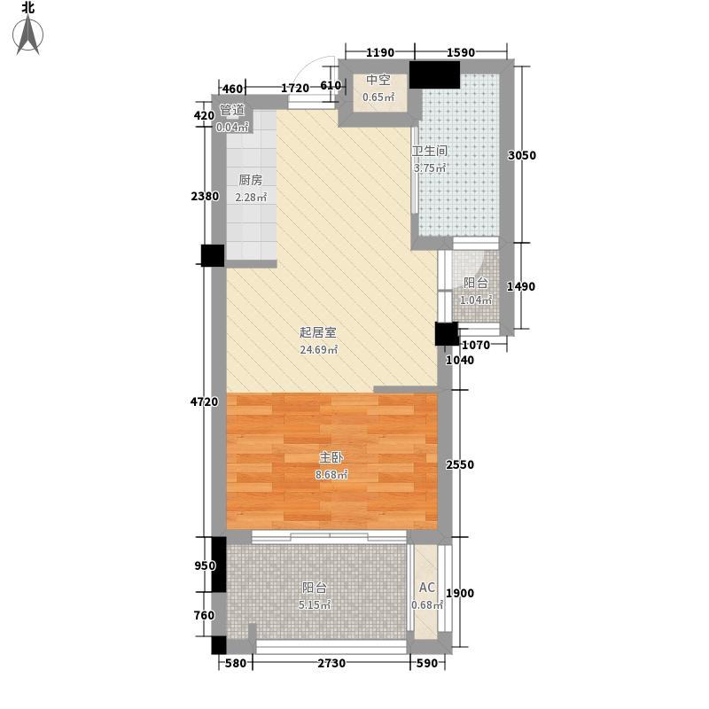 盛世豪庭盛世豪庭户型图户型图1室1厅1卫1厨户型1室1厅1卫1厨