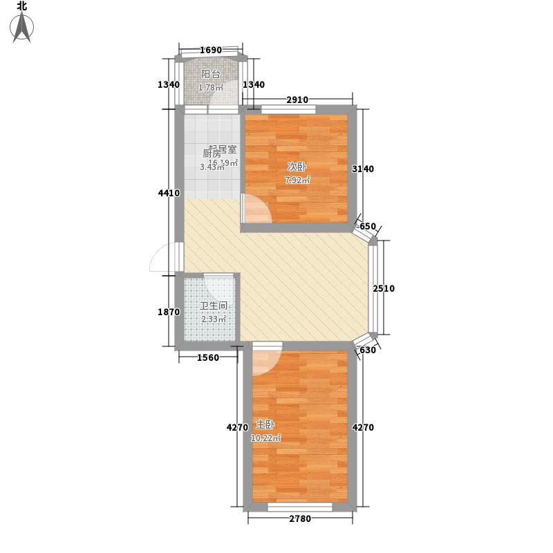 田园新城田园新城户型图户型图2室1厅1卫1厨户型2室1厅1卫1厨