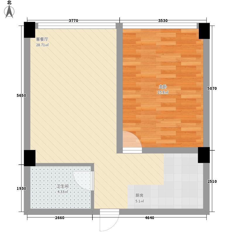 新华名座67.54㎡新华名座户型图公寓A户型(67.54㎡)1室1厅1卫1厨户型1室1厅1卫1厨