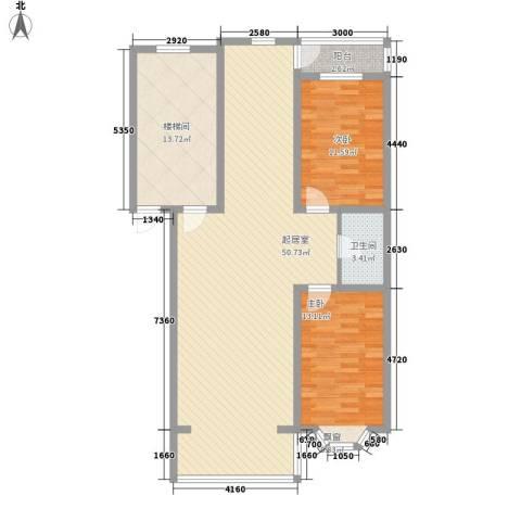 浅草绿阁三期2室0厅1卫0厨110.00㎡户型图