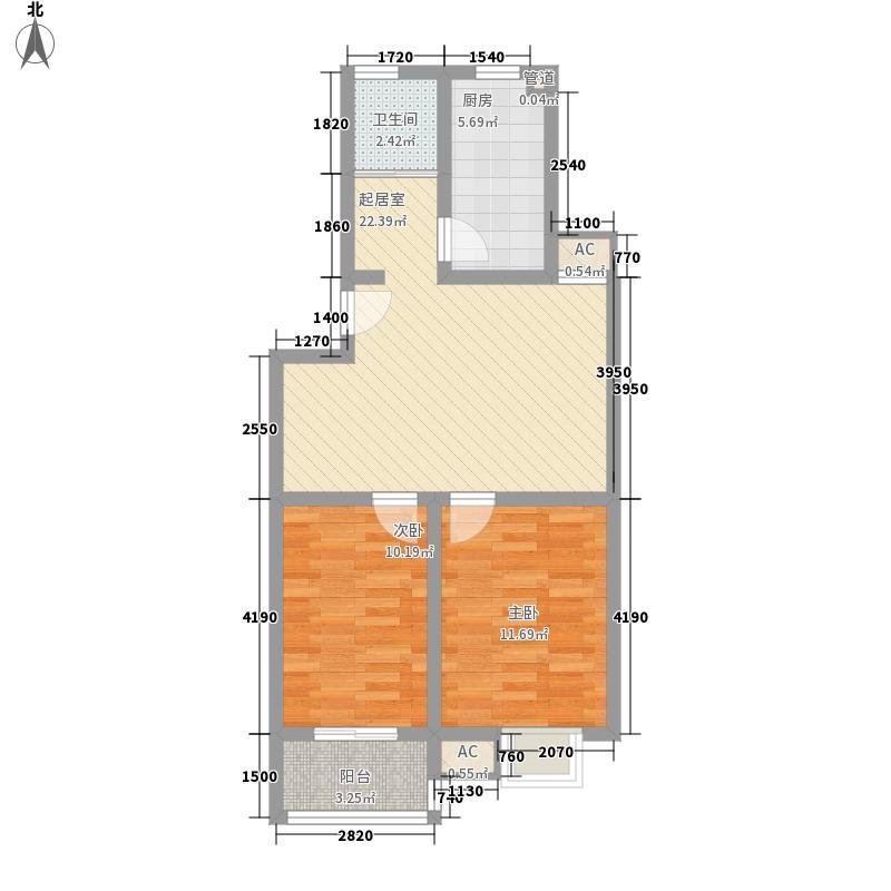 拓天万福家园拓天万福家园户型图5-32室2厅1卫1厨户型2室2厅1卫1厨