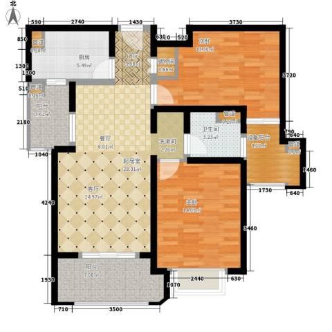 西康路9892室0厅1卫1厨89.00㎡户型图